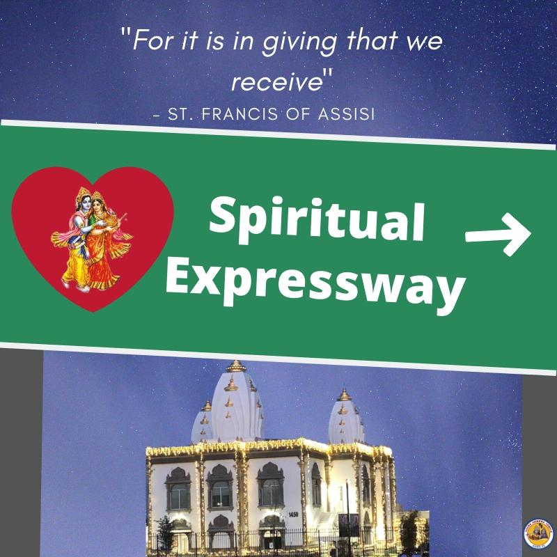 Giving is the Expressway to Building Your Spiritual Wealth