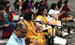 2019 Winter Bhakti Retreat at Radha Krishna Temple Allen TX